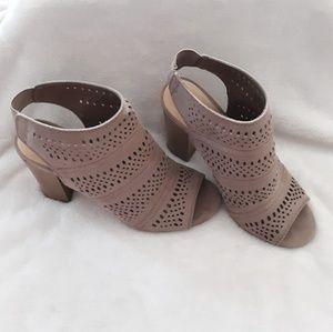 Lauren Conrad Cutout Ankle Boots.